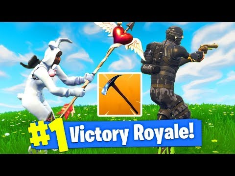 I WON FORTNITE With *NO WEAPONS*! (видео)