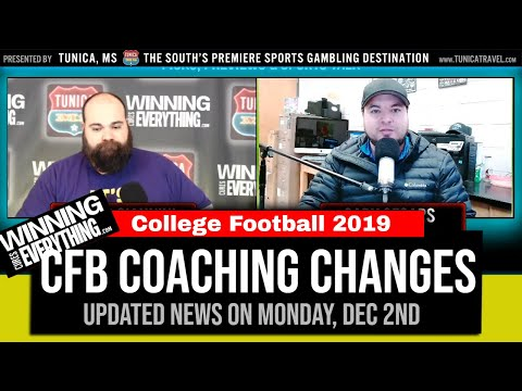 College Football Coaching News - Dec 2nd, 2019