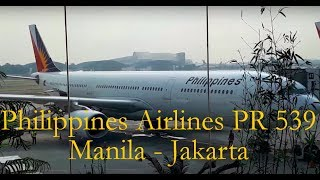 Video Philippine Airlines PR 539 Manila - Jakarta | Economy Class Flight Experience MP3, 3GP, MP4, WEBM, AVI, FLV Agustus 2018