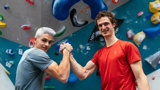 Road to Tokyo #40: Training with Alberto Ginés López by Adam Ondra