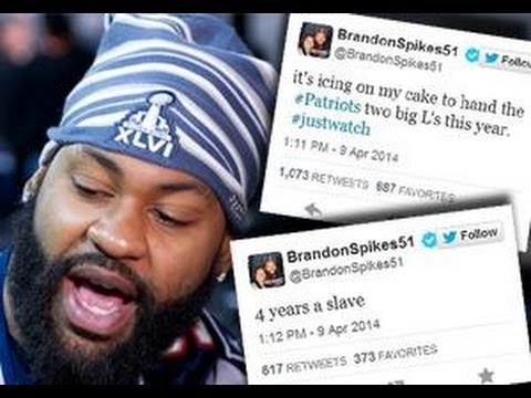 patriots - Former New England Patriots linebacker Brandon Spikes has lashed out at his former team. As a new member of the Buffalo Bills, Spikes tweeted