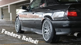 Turbo E36 Fenders Rolled & Some Glamor Shots! by Ignition Tube