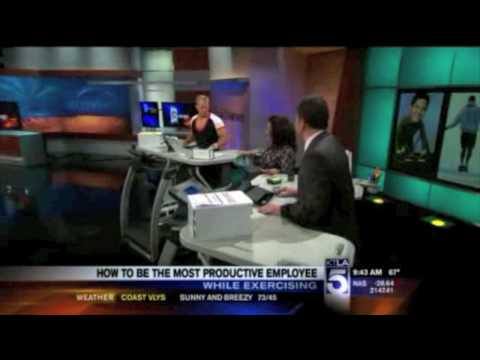 TrekDesk Featured on KTLA with Muscleman of Technology, Bruce Pechman