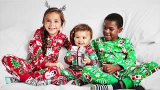 Family Matching Holiday Pajamas