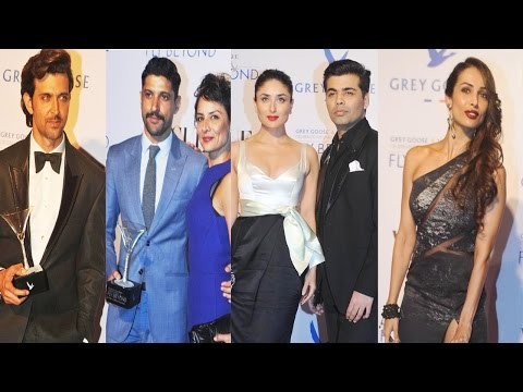 Hrithik, Kareena, Farhan & Others At Grey Goose Fly Beyond Awards
