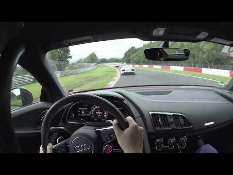 Audi Driving Experience Nürburgring Nordschleife R8 V10 Plus