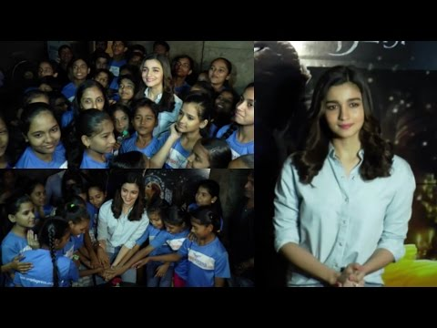 Alia Bhatt Host Screening Of Beauty & The Beast