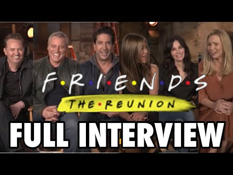 FRIENDS REUNION: Full Cast Interview W/ Aniston, Perry, Cox, Kudrow, LeBlanc, and Schwimmer!