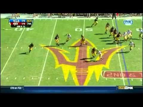 Cassius Marsh vs Arizona State 2012 video.