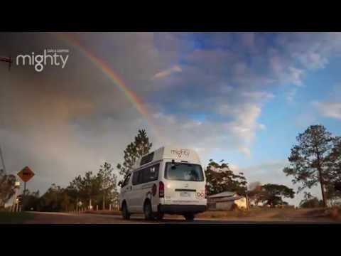Cairns to Brisbane road trip - Leg 2 in a Mighty Camper