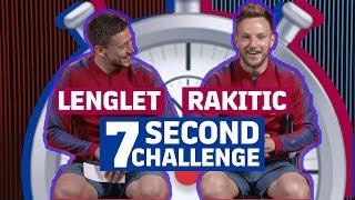 Video 7 SECOND CHALLENGE | RAKUTEN CUP EDITION | Lenglet vs Rakitic MP3, 3GP, MP4, WEBM, AVI, FLV Agustus 2019