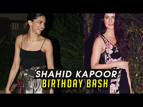 Rivals Deepika Padukone And Katrina Kaif At Shahid