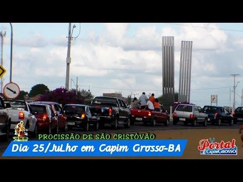 Procissão de São Cristóvão - Capim Grosso BA 2004