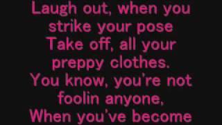 Avril Lavigne - Complicated Lyrics