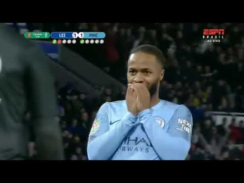 PINALTI Leicester City 1 Vs 3 Manchaster City - 18/12/2018