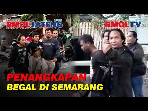 Detik detik Penangkapan BEGAL Oleh Tim Anti Bandit Polrestabes Semarang