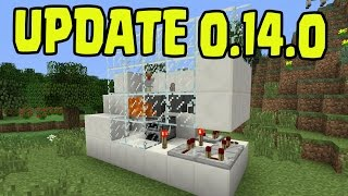 Minecraft Pocket Edition - 0.14.0 Update - REDSTONE HOPPERS REPEATERS Confirmed Released NEWS!