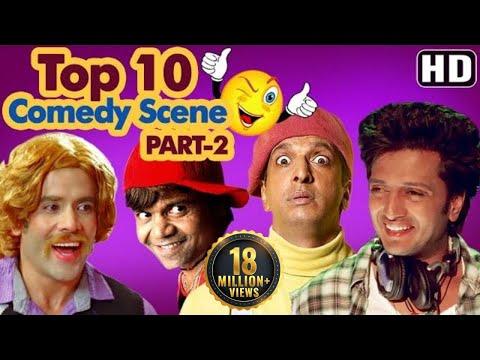 Top 10 Comedy Scenes {HD} Ft - Rajpal Yadav   Johnny Lever   Govinda   Kadar Khan   IndianComedy