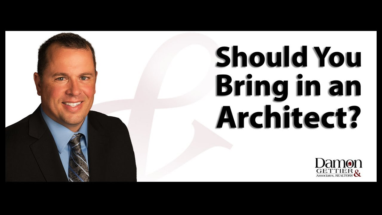 Should You Bring an Architect in on a Home Inspection?