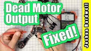 Please consider supporting me via Patreon: https://www.patreon.com/thedroneracingengineerIt's such a waste to throw out a whole flight controller just because you have one bad motor output. There's a better way! Use Betaflight resource remapping to assign the motor output to a different, unused pad. I'll show you how to troubleshoot the bad motor output, so that you're sure that's actually what it is. Then I'll show you how to use resource remapping to reassign the motor output to a different pin.The multimeter that I use is: http://amzn.to/2nb1cAsMANDATORY DISCLAIMER: I am a participant in the Amazon Services LLC Associates Program, an affiliate advertising program designed to provide a means for me to earn fees by linking to Amazon.com and affiliated sites.Amzn.to links above are affiliate links, and I will receive compensation if you use them.