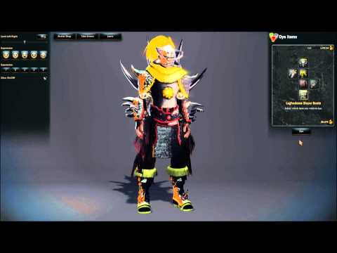 Arisha Vindictus Armor Sets