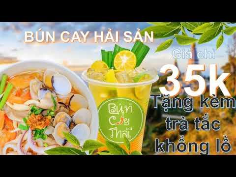 Bún Cay Thái nổi tiếng nhất Gò Vấp - Hương vị riêng không giống ai!