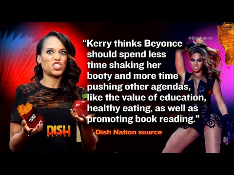 role - Kerry Washington thinks Beyonce needs to spend less time shaking her booty and more teaching young African-American girls about self-awareness and healthy eating.