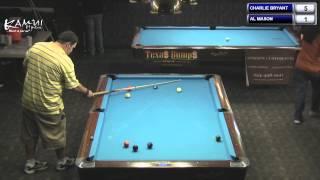 9 Ball Charlie Bryant V Al Mason  2013 Texas Open