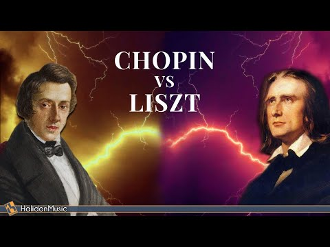 Chopin Vs Liszt - The Masters Of Classical Music