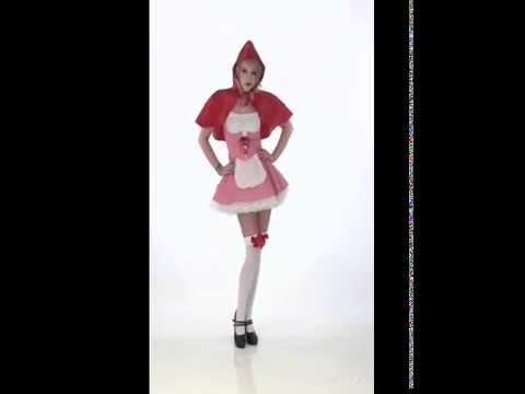 Deguisement petit chaperon rouge