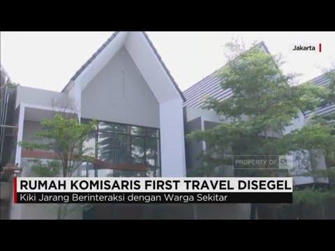 Rumah Komisaris First Travel Disegel