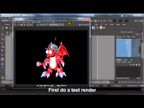 3DXchange 5 Tutorial – iClone Animation to Maya Rendering