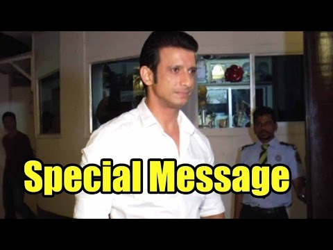 Sharman Joshi's Message For His Fans!