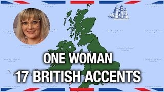 Video One Woman, 17 British Accents - Anglophenia Ep 5 MP3, 3GP, MP4, WEBM, AVI, FLV Agustus 2018