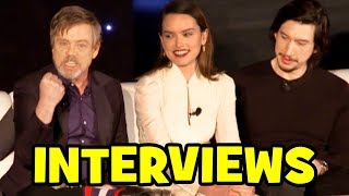 Video STAR WARS THE LAST JEDI Cast Interviews - Mark Hamill, Daisy Ridley, Adam Driver, John Boyega MP3, 3GP, MP4, WEBM, AVI, FLV Desember 2017