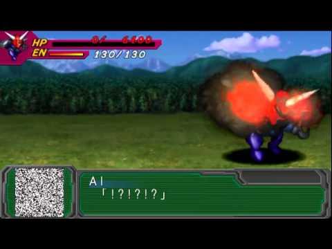 Super Robot Wars A Portable PSP