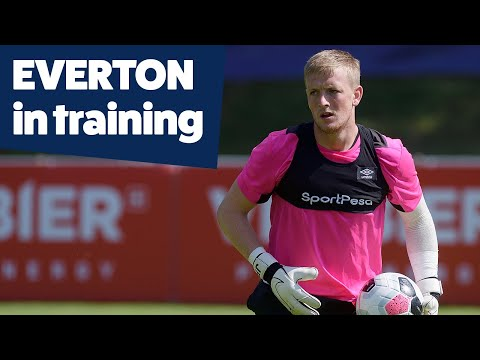 Video: GOALKEEPER TRAINING! | PICKFORD, LÖSSL, STEKELENBURG IN FOCUS