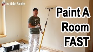 Painting A Room Fast