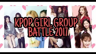Video Girl Group Battle 2017 [Red Velvet VS Gfriend VS Twice VS Blackpink] MP3, 3GP, MP4, WEBM, AVI, FLV November 2018