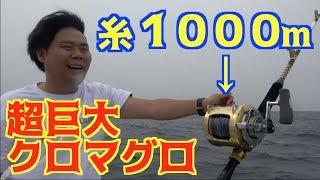Video 超巨大クロマグロ釣りリベンジ!規格外の釣り道具登場! MP3, 3GP, MP4, WEBM, AVI, FLV Juli 2018