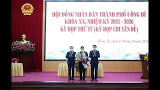 Kỳ họp thứ 4 HĐND thành phố Uông Bí khoá XX, nhiệm kỳ 2021-2026