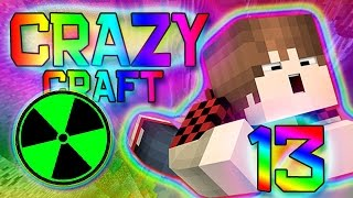 Minecraft: RADIATION MINING! Crazy Craft 2.0 Modded Survival w/Mitch! Ep. 13 Part 1 (Crazy Mods)