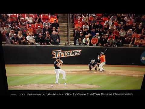 Washington super regional baseball