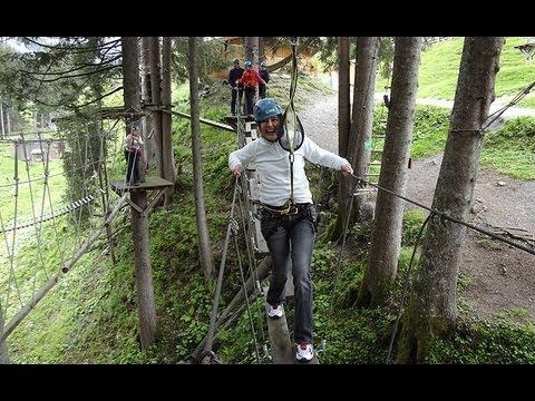Hochseilgarten Saalbach Hinterglemm - größter Hochseilpark Österreichs