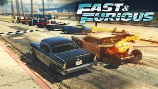 Nonton GTA V - Fast & Furious 8 CUBA RACE Film Subtitle Indonesia Streaming Movie Download
