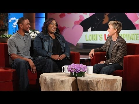 Loni Love's Man is Here! (видео)