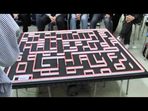 Micromouse Bot Solves Maze in Less Than 5 Seconds