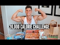 20,000 CALORIE CHALLENGE | EPIC Cheat Day | Man VS Food