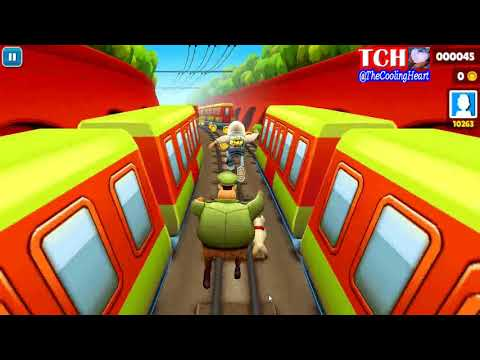 Permainan Game Subway Surfers GamePlay On PC HD