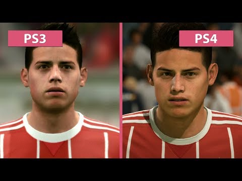 FIFA 18 – PS3 Vs. PS4 Graphics Comparison
